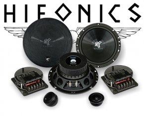 Hifonics Titan 2-Wege Auto Lautsprecher System TS6.2C