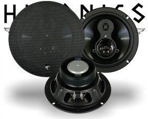Hifonics Titan 3-Wege Auto Lautsprecher Triax TS830