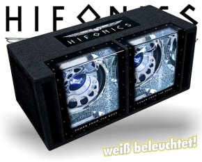 Hifonics Brutus Dual Bandpass BXi12-DUAL mit Beleuchtung!