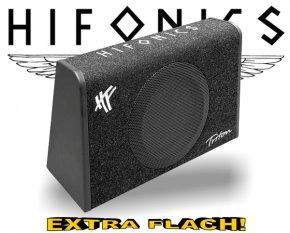Hifonics Triton Subwoofer Bassreflex TRS-200 extra flach