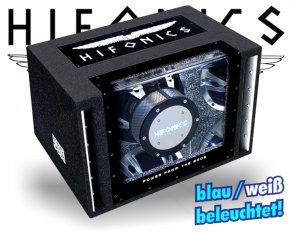 Hifonics Zeus Single Bandpass ZLi-12BP mit Beleuchtung!