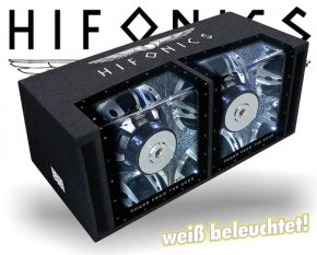 Hifonics Zeus Dual Bandpass ZXi-12DUAL mit Beleuchtung!