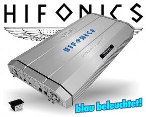 Hifonics GEN-X4 Auto Verstärker Endstufe ATLAS