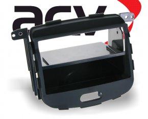 Radioblende 1-DIN Hyundai i10 2008-2013 mit Ablagefach schwarz