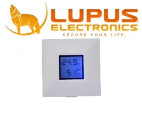 IP Funk Haus Alarmanlage LUPUSEC - XT Temperatursensor mit Display