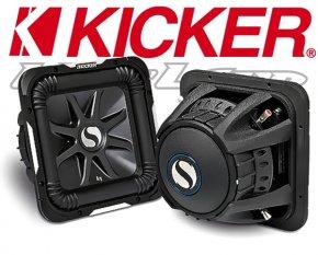 Kicker Subwoofer SoloBaric L7 S12L72 2x 2ohm 1500W 30cm