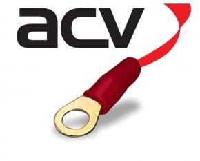 Kabelschuh Ring 10 mm² rot