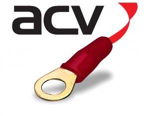 Kabelschuh Ring 20 mm² rot