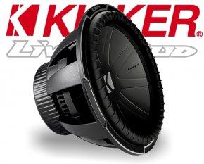 Kicker Subwoofer Bass Comp-Q CWQ152 2x 2ohm 2200W 38cm