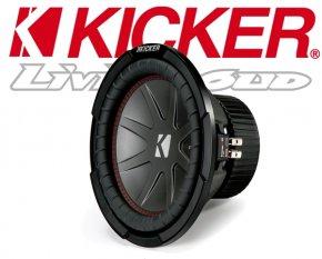 Kicker Auto Subwoofer Bass CWR102-43 2x 2ohm 800W 25cm