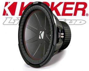 Kicker Auto Subwoofer Bass CWR152-43 2x 2ohm 1600W 38cm