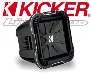 Kicker Subwoofer Bass Q-Class L7102 2x 2ohm 1500W 25cm