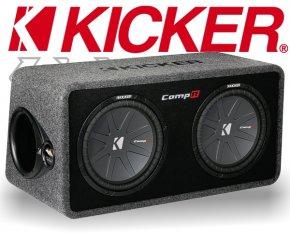 Kicker Subwoofer Bassbox DCompR12 DCWR122 3200W