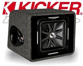 Kicker Bassreflex Subwoofer Bassbox VS12L72 1500W
