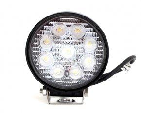 LED Strahler rund Arbeitslicht Flutlicht 2500lm 6500K 27W
