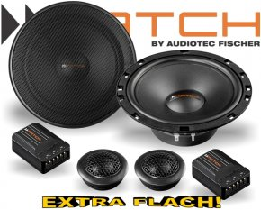 Match Auto Lautsprecher Set 165mm 50W MS62C