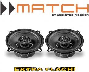 Match Auto Lautsprecher Koax 130mm 40W MS5x