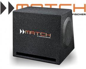 Match 2x 10 25cm Plug&Play Bassreflex-Subwoofer PP 10E-D