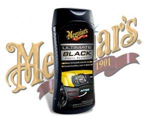 Meguiars Ultimate Black Plastic Restorer Kunststoffpflege Plastikpflege G-15812