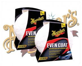 Meguiars Even Coat Mikrofaser Applicator Pads X-3080