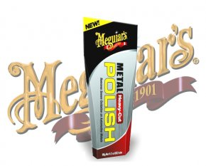 Meguiars Heavy Cut Metal Polish Metall Politur G-15104
