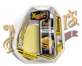 Meguiars DA Power System Set gelb Lackpolieren G-3502