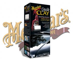 Meguiars Quik Clay Lackreinigung Set G-1116