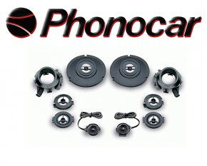 Phonocar Hochtöner Tweeter Pro-Tech 80W 2/465
