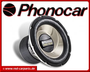 Phonocar Pro-Tech Subwoofer Bass 320mm 2x600W 2/770