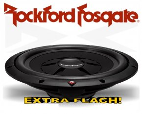 Rockford Fosgate Prime R2 Subwoofer R2SD2-12 extra flach