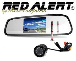 Einparkhilfe Rückspiegelmonitor inkl. Kamera