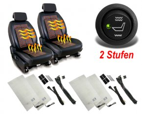 2-Stufen Sitzheizung nachrüsten für 2 Auto Sitze CSH1-2