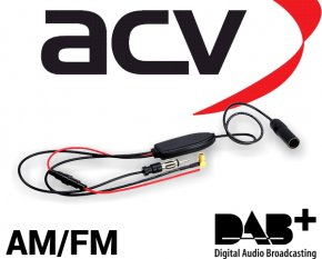 DAB DAB+ FM AM aktive Antennenweiche für vorhandene UKW Antenne DIN