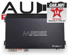 Audio System Subwoofer Verstärker Endstufe M 850.1D 850W