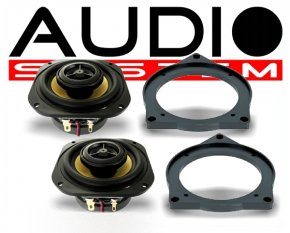 Audio System CO80 BMW 2-Wege Spezial Front-System BMW