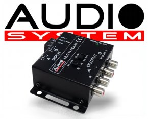 Audio System Profi High-Low Adapter 4 Kanal HLC4 PLUS