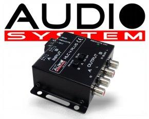 Audio System Profi High-Low Adapter 4 Kanal HLC4 PLUS