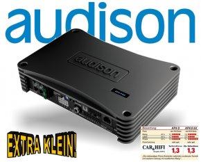 Audison AP4.9 bit DSP Prozessor Verstärker Endstufe 520W