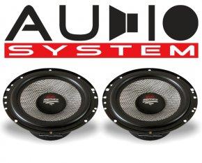 Audio System Kickbass Subwoofer AS165 EVO 95W 2 Stück