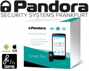 Pandora Autoalarmanlage Smart Pro mit Live-Ortung Handyalarm App Bluetooth