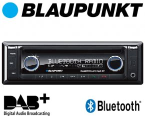 Blaupunkt Autoradio Bamberg 470 DAB+ Bluetooth CD USB AUX SD