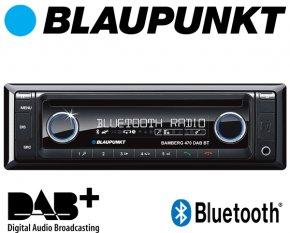 Blaupunkt Autoradio Bamberg / London 470 DAB+ Bluetooth CD USB AUX SD
