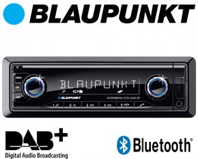 Blaupunkt Autoradio Nürnberg 370 DAB+ Bluetooth USB AUX SD