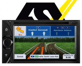 ESX Autoradio Navigationsgerät i20 15,7cm Touchscreen Monitor VN620D