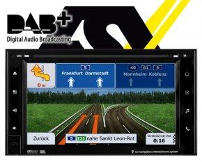 ESX Autoradio mit DAB+ Navigationsgerät i20 15,7cm Touchscreen Monitor VN620W DAB