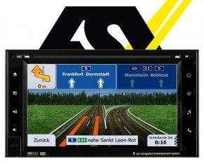 ESX Autoradio Navigationsgerät i20 15,7cm Touchscreen Monitor VN620W DAB