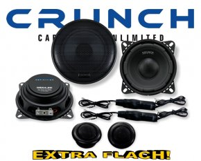 Crunch Definition 2-Wege Auto Lautsprecher System DSX-4.2C 120W