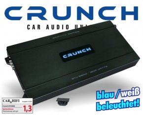 Crunch GTX Auto Verstärker Endstufe GTX-5900 4x 250W + 1x 800W