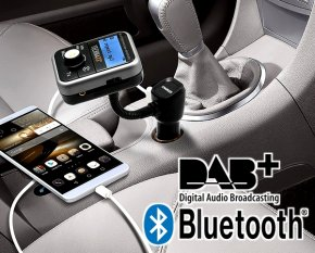 FMT 1000 BT DAB+ Bluetooth nachrüsten in jedem Autoradio