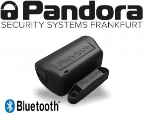 Pandora Bluetooth Sensor 3D Erschütterungssensor Neigungssensor Türkontakt DMS-100 BT schwarz